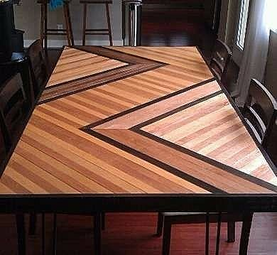 Patterned Table