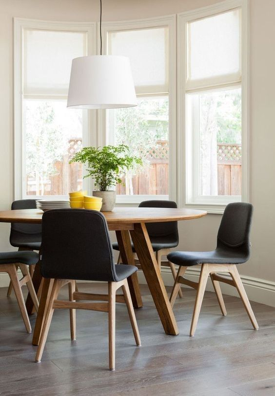 Rounded Dining Table