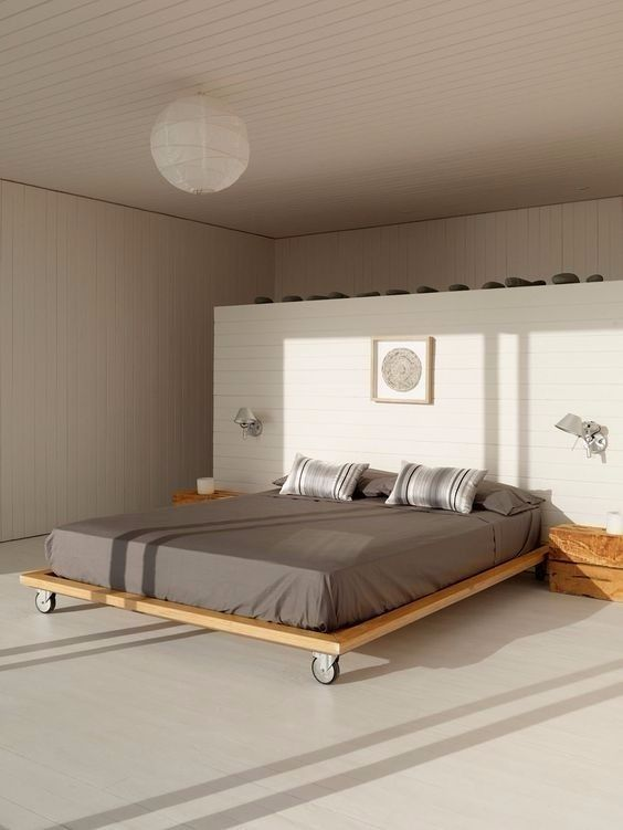 Simple Bed on Wheels